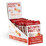 SmartyPants Gummy Vitamins Kids Complete On-The-Go Packs with Multivitamin, Omega 3s, and Vitamin D, 15 Count by SmartyPants Gummy Vitamins