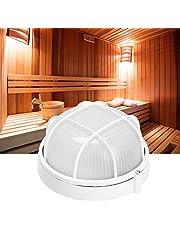 Pangdingk Światła do sauny, profesjonalne, okrągłe, jasne, odporne na wybuchy lampy o wysokiej temperaturze do łazienek saunowych 220 V, 60 W
