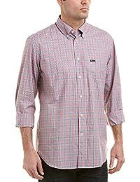 Faconnable Mens Woven Shirt, XL