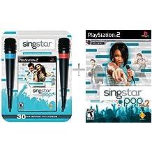 SingStar Pop Bundle (with Microphone) + SingStar Pop Vol. 2 (Game Only) [PS2]