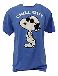Men's Snoopy Chill Out Peanuts Please Don't Kill My Chill T-Shirt