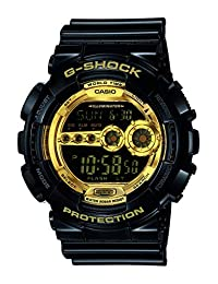 Casio G Shock Men's GD-100GB-1CR G-Shock Digital Display Quartz Black Watch