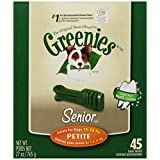 Greenies Senior Tub-Pak Treat for Dogs, 27-Ounce, Petite