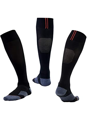 740f335b3 Men & Women Black Football Sock Soccer Rugby Hockey Socks