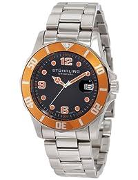 Stuhrling Original Men's Water Sports 'Clipper' Swiss Diver Watch Black 158.331157
