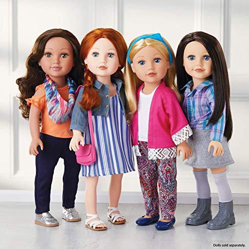"Journey Girls 18"" Doll Super Fashion Fun Set - Amazon Exclusive"