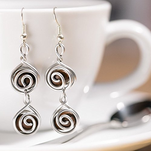 Espresso Bean Earrings For Coffee Lovers And Baristas: Handmade With Love By Madres Jewelry