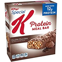 Kellogg's Special K Protein Meal Bars, Double Chocolate, 6 Count Box (Pack of 3)