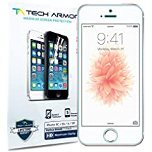 Apple iPhone 5 RetinaShield Screen Protector, Tech ArmorPremium Blue Light Filter Apple iPhone 5C / 5S / 5 / SE Film Screen Protector [1]