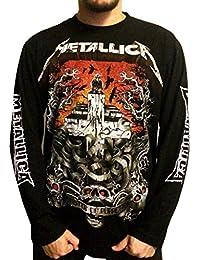 Men's Metallica T-Shirt Long Sleeve XX-Large Black