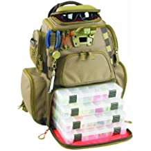 Wild River by CLC WT3604 Tackle Tek Nomad Lighted Backpack with Four PT3600 Trays