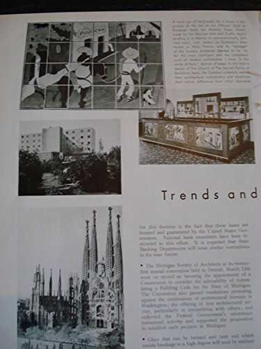 Article: Trends  Topics of the Times Handmade Tile, Officers Club, San Antonio; Le Corbusiers Swiss Hostel, Paris; Twisted Glass; Prefabricated House…