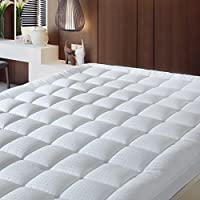Balichun 300TC Storm Goose Down Alternative Twin XL Fitted Mattress Pad Cover