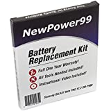 Samsung GALAXY Note Pro 12.2 SM-P900 Battery Replacement Kit with Installation Video, Tools, and Extended Life Battery.