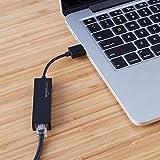 Amazon Basics USB 2.0 to 10/100 Ethernet Port LAN