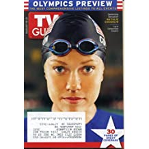 TV Guide August 15, 2004 Athens Olympics Preview, Natalie Coughlin Cover, Fantasia/American Idol