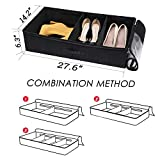 VEAMOR Under Bed Shoe Storage Containers Organizer