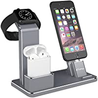 YoFeW Charging Stand for Apple Watch Aluminum Watch...