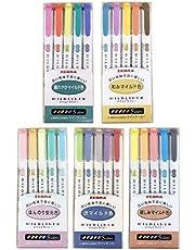 Zebra Mildliner zestaw pisaków, 25 elementów, kolory pastelowe