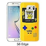 Fashion Designed Pokemon 14 White Samsung Galaxy S6 Edge Phone Case