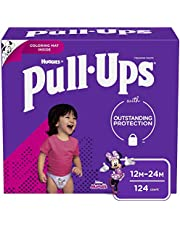 Girls Potty Training Underwear, 3T-4T, Pull-Ups Learning Designs for Toddlers, 96 ct, One Month Supply