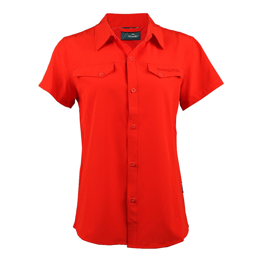 Shandiren Damens'S Outdoor Sports Breathable Short-Sleeved Shirt