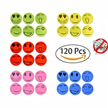 Bluesnow 120PCS Mosquito Repellent Stickers Keeps Insects and Bugs for Indoor and Outdoor Kids, Adults and Pet Use