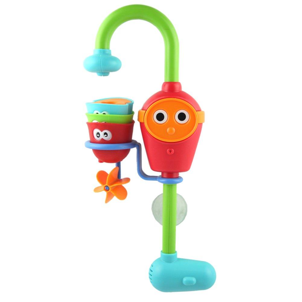 Bad babyspielzeug Badezimmer bad Bad spielzeug Kinder wasser dusche wasserhahn-B