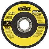 DEWALT DW8351 4-1/2-Inch by 7/8-Inch 40G Type 27 Flap Disc