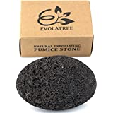 Evolatree Pumice Stone for Feet - Best Foot Scrubber Callus Remover for Dead Skin - Unique Spa Pedicure Tool for Happy Feet Hands and Heals