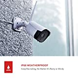 Victure Outdoor Security Camera 1080P Wireless for