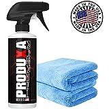 Produxa Premium Vehicle Paint Polish & Sealer | Top Car, Bike & Boat Hydrophobic Spray to Shine, Dry, Seal & Protect Paint (1 KIT) (1 KIT Special)