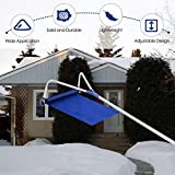 Goplus Roof Snow Rake Removal Tool 20 ft with