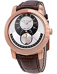 Harry Winston Midnight Automatic Men's 18k Rose Gold Moonphase Watch MIDAMP42RR001