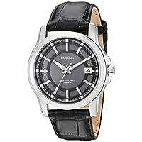 Bulova Men's 96B158 Precisionist Leather Strap Watch