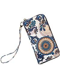 Women wallet Bohemian wristlet Clutch wallets