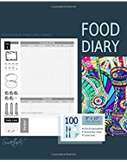 Food Diary: Journal and Planner to log Diet, with a Calorie Counter (A soft covered large notebook with 100 spacious daily record pages and more from our Inside Out range)