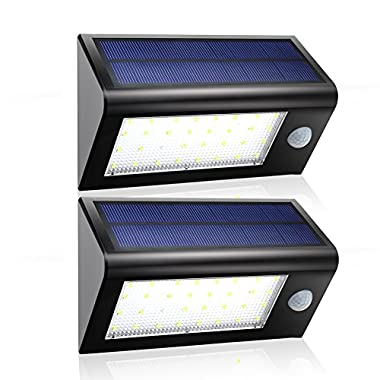 Solar Lights,Gdealer Super Bright 32 LED Solar Powered Lights Outdoor Garden - Waterproof - Motion Sensor Security Light for Staircase Stair Step Stairway Path Landscape Garden Floor Wall Patio