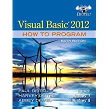 Visual Basic 2012 How to Program (6th Edition)
