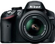 Nikon D3200 24.2 MP CMOS Digital SLR with 18-55mm f/3.5-5.6 AF-S DX NIKKOR Zoom Lens (Renewed)