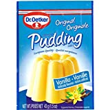 Oetker Vanilla Pudding, 10-Count