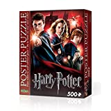 Hogwarts School from Harry Potter Poster Puzzle Made by Wrebbit (500 Pieces)