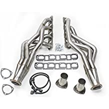 JBA 6961S 1-7/8-Inch Stainless Steel 4 into 1 Primary Long Tube Exhaust Header for Dodge Ram 1500/2500/3500 2/4 WD 5.7-Liter Truck