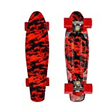 High Bounce Complete 22 Inch Skateboard for Kids of All Ages, Girls, Boys