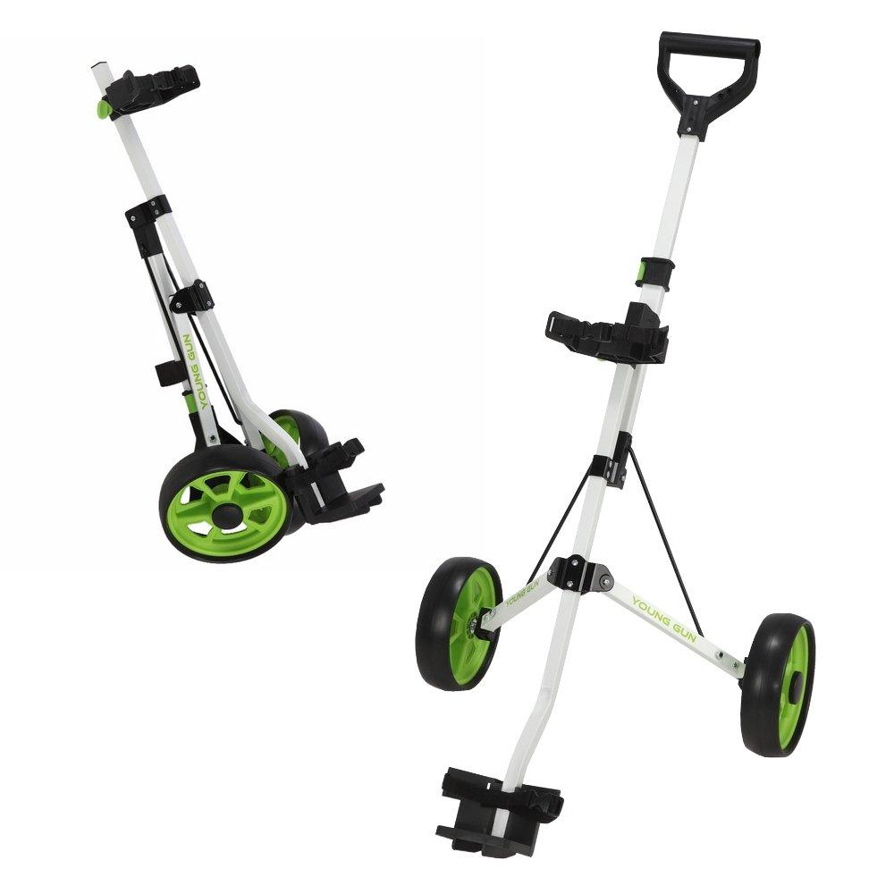 Young Gun Kids Adjustable Golf Cart For Junior Golfers 3