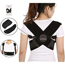 """Adjustable Upper Back Posture Corrector, Fix Clavicle Brace, Shoulder Alignment, Bad Posture, Thoracic Kyphosis and pain relief by Joint Brace (Medium ( 28"""" -39"""" chest ))"""
