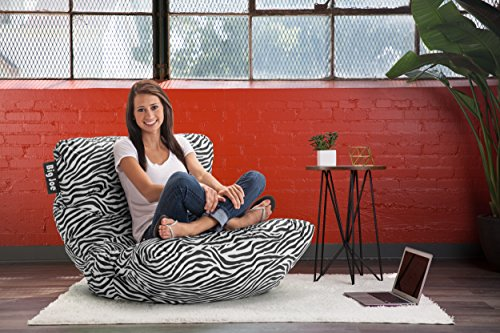home, kitchen, furniture, game, recreation room furniture,  bean bags 7 image Big Joe Roma Chair, Zebra promotion
