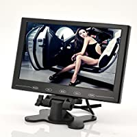 BONDWL 9 Inch TFT LCD Monitor - In-Car Headrest/Stand, Ultra-Thin Design, 800x480 Resolution