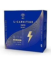 L Carnitine 3000 Vloeistof Fitness Supplementen Vetverbrander Afslanken L-Carnitine Afvallen Verbeteren Sportprestaties en Weerstandsniveau Gewichtsverlies 20 ampullen Vegan EC N2 Natural Nutrition