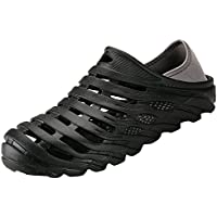 BODON Mens Breathable Mesh Slippers Lightweight Garden Clog Sandals Beach Shoes Quick-Drying Water Shoes Non-Slip